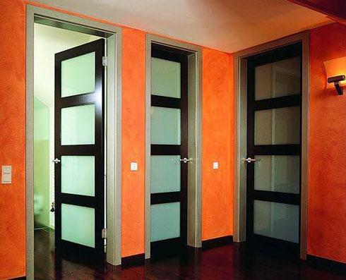 Как поменять цвет дверей